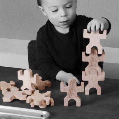 Jeux de cubes / blocs en bois