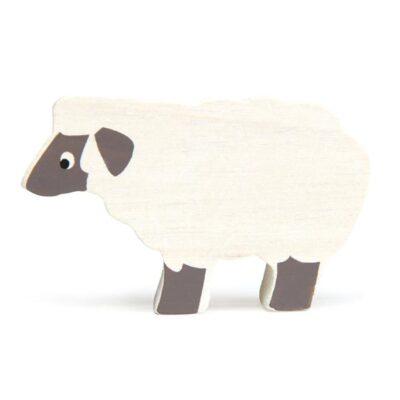 animaux de la ferme en bois tender leaf toys