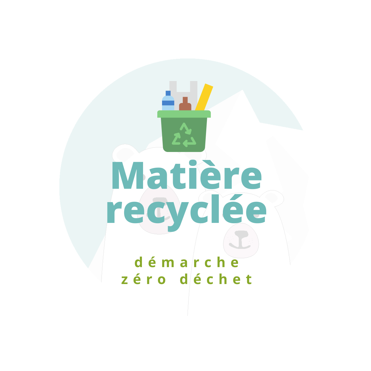 matière recyclé