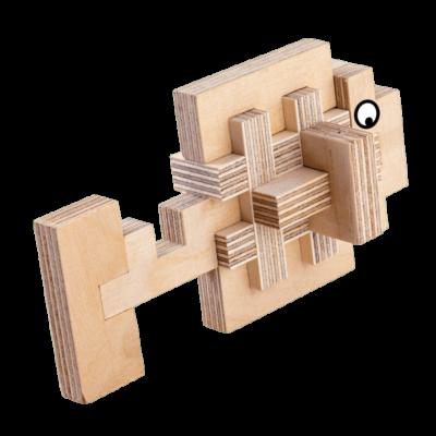 jeu de construction en bois cloze