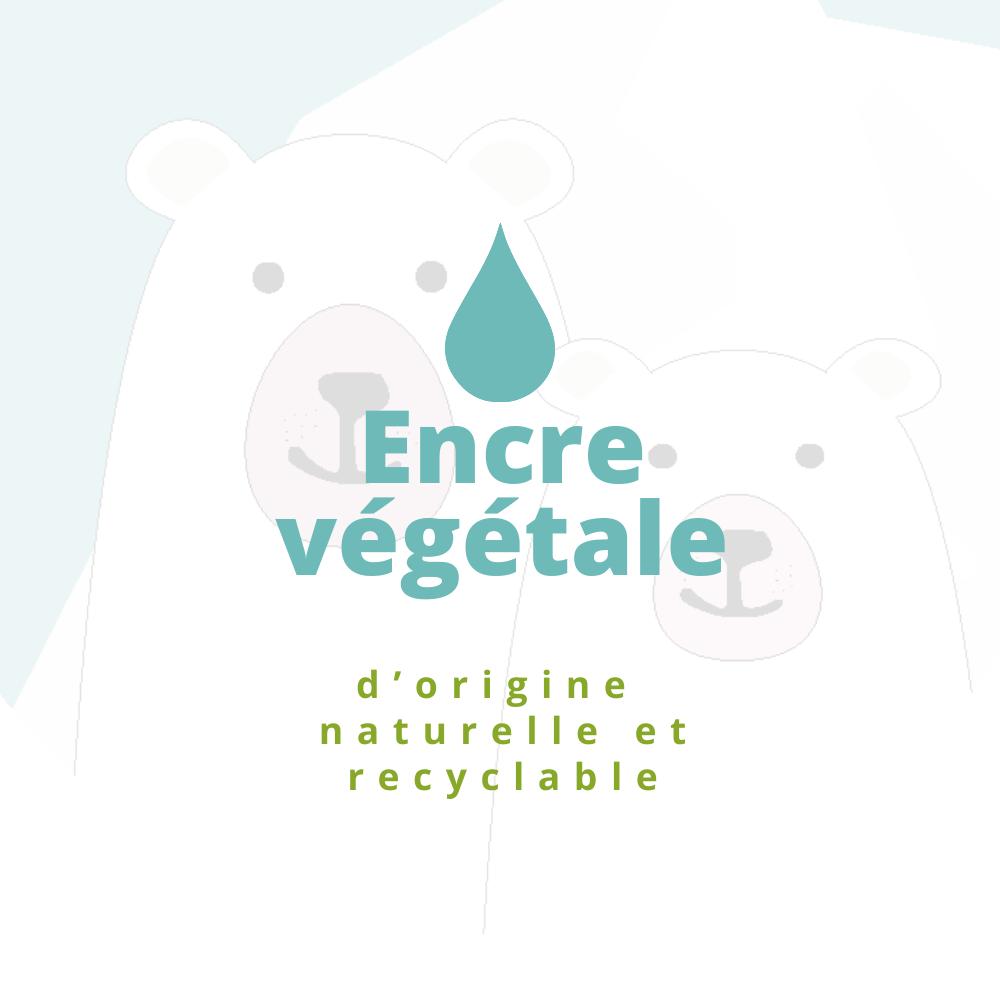 encre végétale
