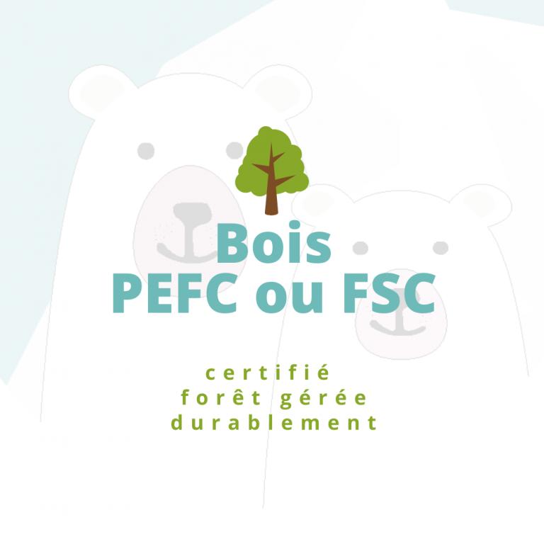bois PEFC FSC