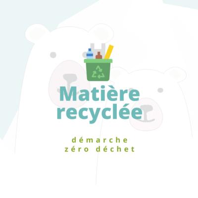 matière recyclée