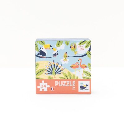 puzzle love is in the air coq en pate