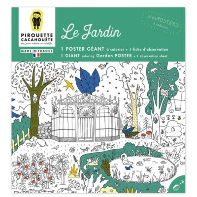 Poster jardin Pirouette Cacahouete